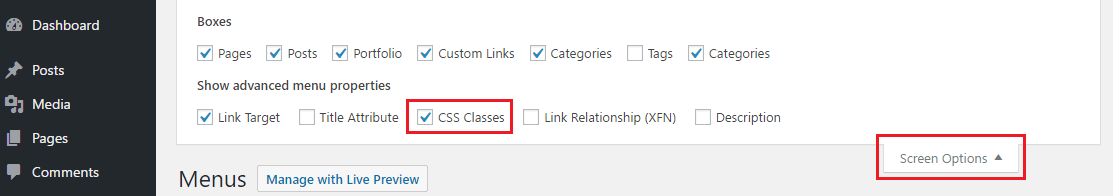 One page scrolling links – LeadEngine Knowledge Base