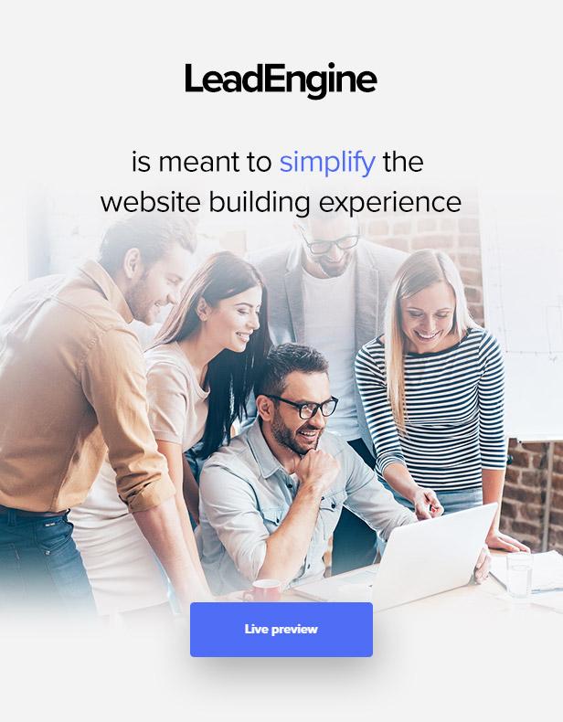 \  - promo0 - LeadEngine – Multi-Purpose WordPress Theme with Page Builder
